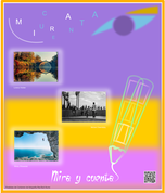 Cartel concurso Micro Relatos Mira y Cuenta
